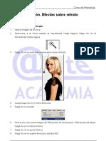 Efectos sobre retrato Tutorial Photoshop Academia Usero