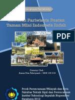 Strategi Pengembangan Pariwisata Buatan Taman Mini Indonesia Indah