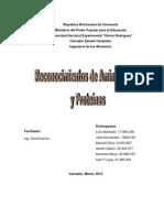 Informe I (Determinacion de Aminoacidos y Proteinas Por Medio de Pruebas Colorimetricas)