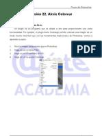 Colorear en el plugin Akvis Tutorial Photoshop Academia Usero