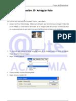 Arreglar foto rota por la mitad UD 15 Tutorial Photoshop Academia Usero