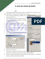 Usar modos de fusión UD04 Tutorial Photoshop Academia Usero