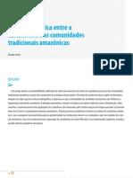 Parceria histórica entre a castanheira e as comunidades tradicionais amazônicaas
