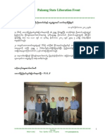 PSLF News Release on Meeting With U Aung Min