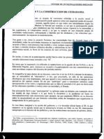 La Participacion y Construccion de Ciudadania DIEGO PALMA