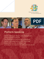 Platform Speaking