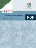 Platform Progress Report 2005