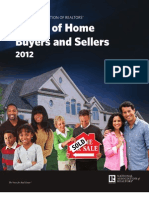 2012 NAR Profile of Home Buyers and Sellers