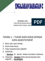 Teknik Pengajaran Penulisan Nilai Murni Bahasa Malaysia UPSR