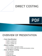 Direct Costing1