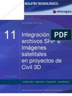 Boletin n11 Integracion de Archivos Shp e Imagenes Satelitales en Civil 3d