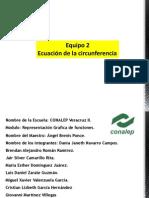 Exposicion Ecuacion de La Circunferencia