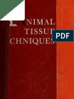 Animal Tissue Techniques 1962