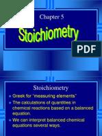 Chapt 5 Stoichiometry OK
