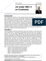 Fair Payment Under NEC Construction Contracts