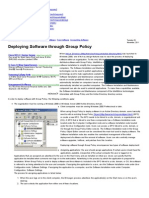 Deploying Software Through Group Policy _ Microsoft Active Directory _ Asked and Answered