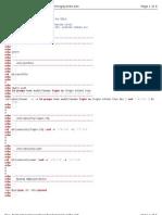 AIX security checklist