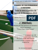 Torneo calciobalilla_Locandina