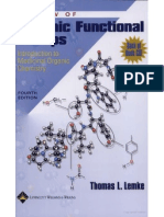 Review of Organic Functiona Groups
