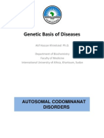 Genetic basis of disease (3)