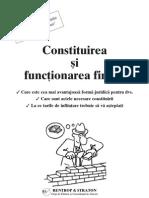 Constituirea Si Functionarea Firmei
