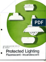 Benjamin Lighting Protected Lighting Brochure 1975