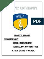 Term Paper Gear Imran Khan