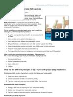 Nurseslabs.com-Proper Body Mechanics for Nurses