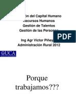 Administracion de RRHH TUPA 2012