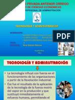 TECNOLOGÍA Y ADMINISTRACIÓN