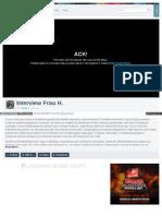 Strahlenfolter - Interview Frau H. - Elektromagnetische Folter - Vimeo_com_51393716