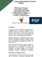Mitologia Grega - Deuses Gregos é Heróis Gregos