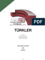 Türkler-Cilt-08 orta çağ (TÜRK TARiHi ÜZERiNE ÇALışMALAR VE GENEL DEĞERLENDiRMELER)