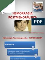 Hemorragia Posmenopáusica