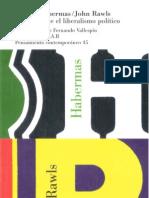 59737017 Habermas y Rawls Debate Sobre El Liberalismo Politico OCR