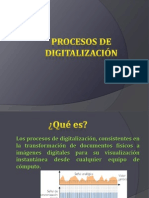 PROCESOS DE DIGITALIZACIÓN
