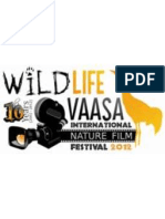 WILDLIFE VAASA FESTIVA 2012- THE PROGRAM OF THE SCREENINGS