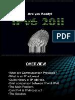 IPv6 IPv4 Presentation