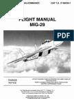 MiG-29 Flight Manual