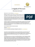 The Tragedy of the Euro-What About Germany SafeCapital
