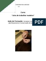 Curso-Arte de Trabalhar Madeira