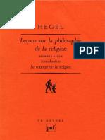 HEGEL-Leçons-sur-la-Philosophie-de-la-Religion-Berlin-1821-1831-Volume-1-LE-CONCEPT-DE-LA-RELIGION-Pierre-Garniron-Paris-1996