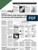 El Perú hará ocho nuevos estudios con el retorno de Humboldt a la Antartida