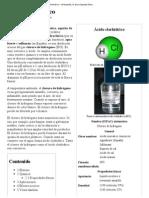 Ácido clorhídrico - Wikipedia, la enciclopedia libre