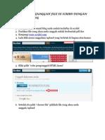 Tutorial Mengunggah File Di Scribd Dengan HTML Pada Blog