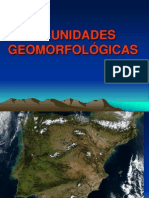 AS UNIDADES GEOMORFOLÓGICAS