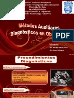 Metodos Auxiliares Dx en Obstetricia