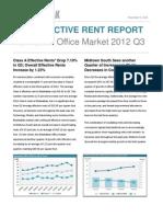 CompStak Effective Rent Report