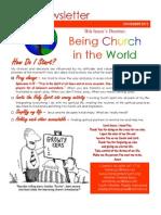 November 2012 Newsletter