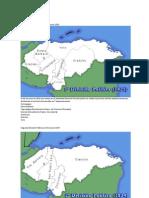 Divisiones Terriotoriales de Honduras
